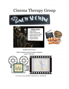 Cinema Therapy Cover